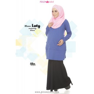 Mama Lucy | Maternity Blouse | Blue